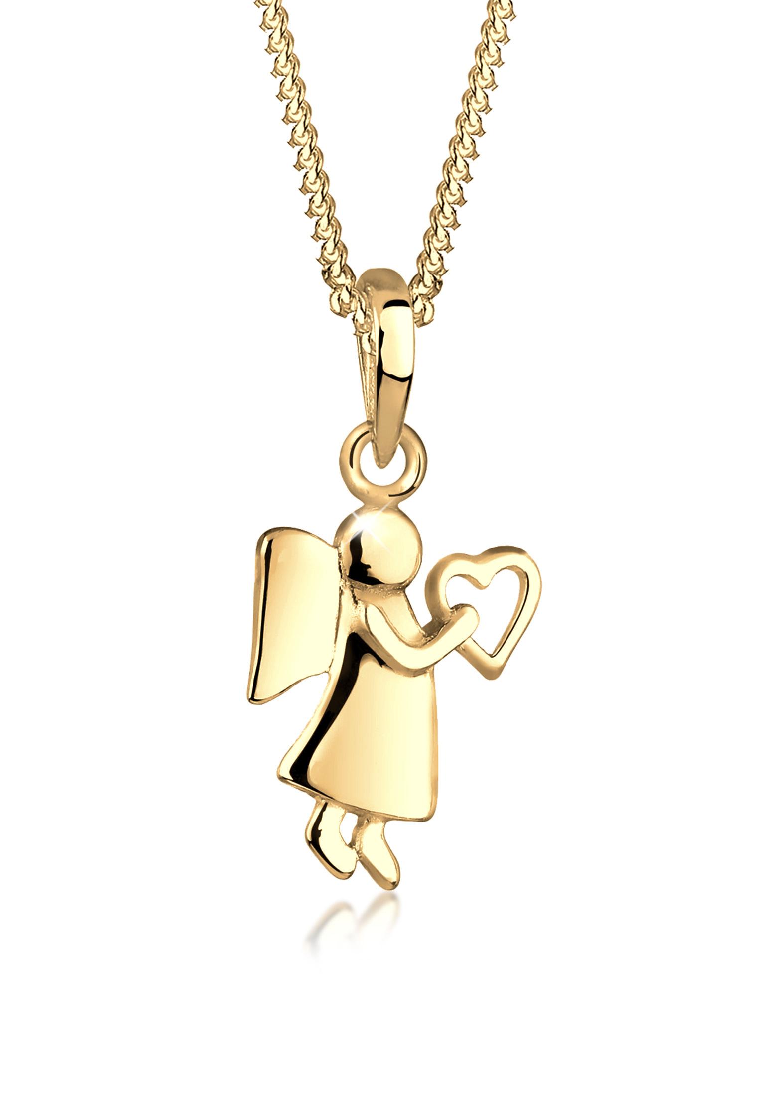 Halskette Schutzengel   925er Sterling Silber