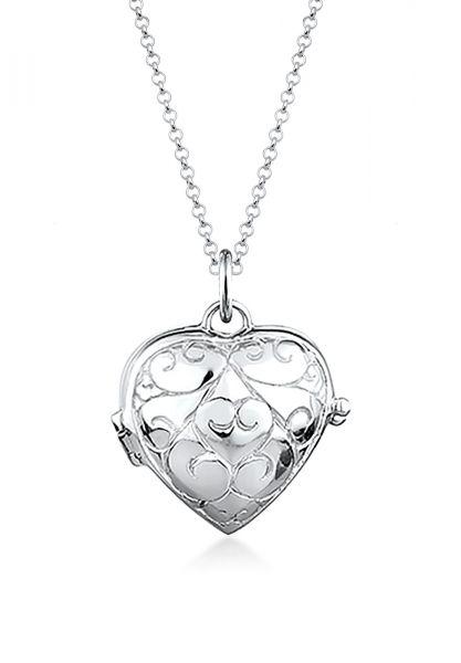 Halskette Herz   925er Sterling Silber