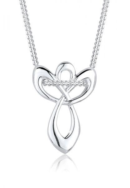Elli Halskette Engel Schutz Infinity 925 Sterling Silber