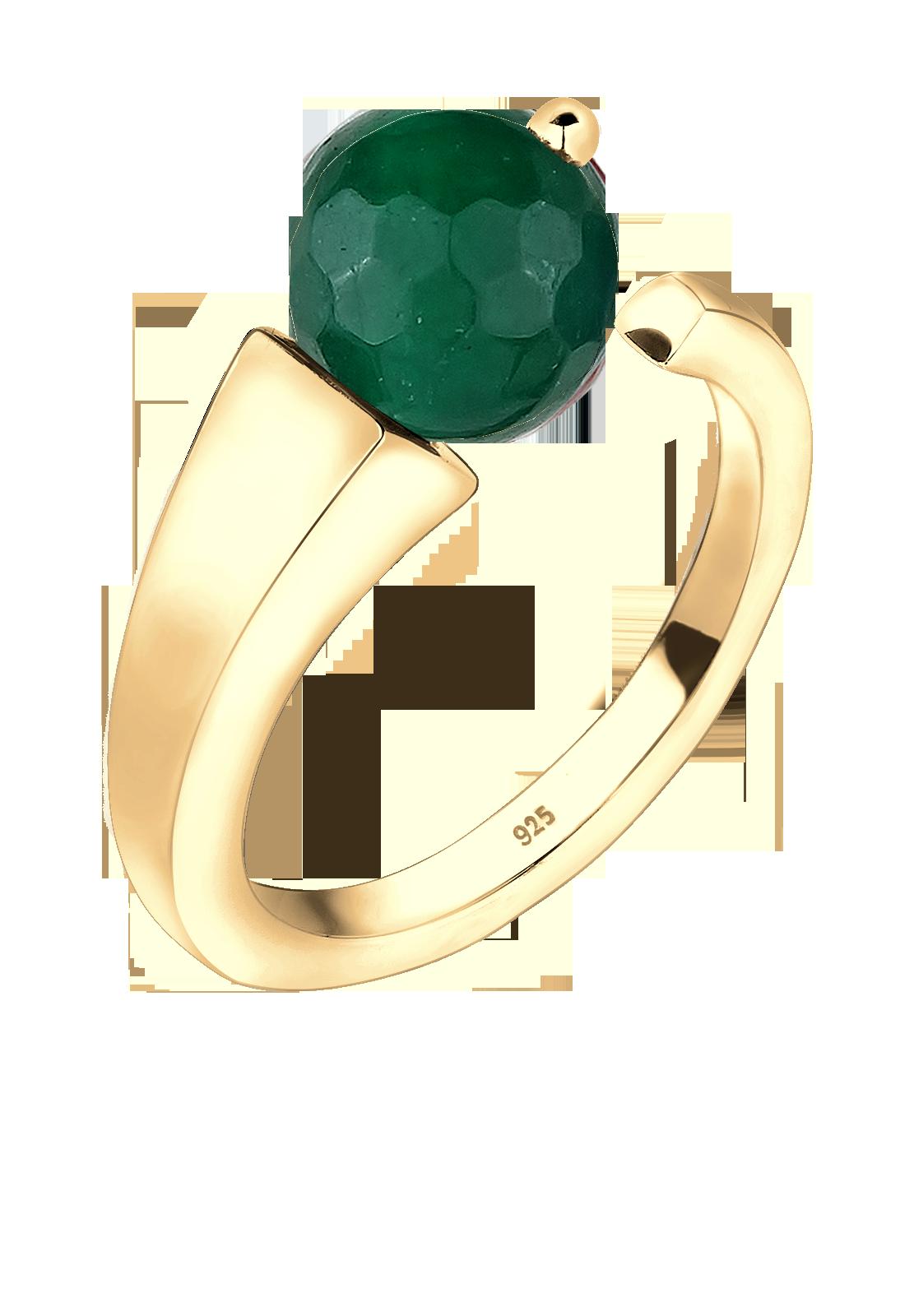 Der Jade ist ein typischerweise smaragdgrüner Edelstein