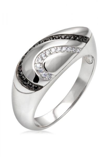 Elli PREMIUM Ring Zirkonia 925 Sterling Silber