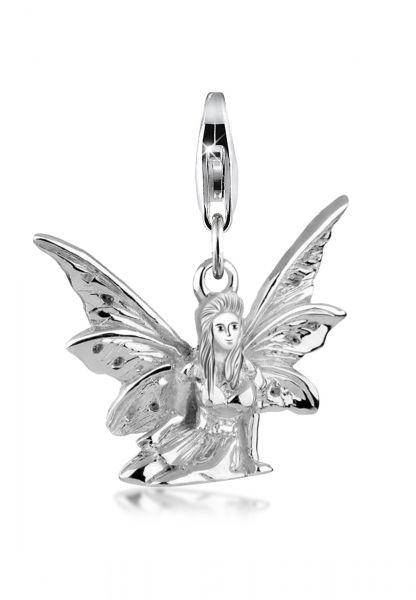 Charm Elfe   925er Sterling Silber