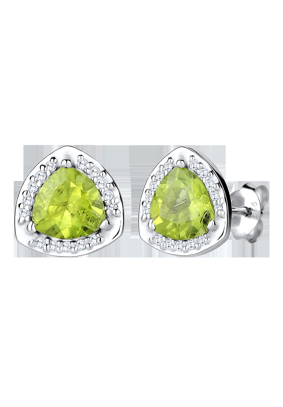 Der Peridot ist ein grünlicher Edelstein