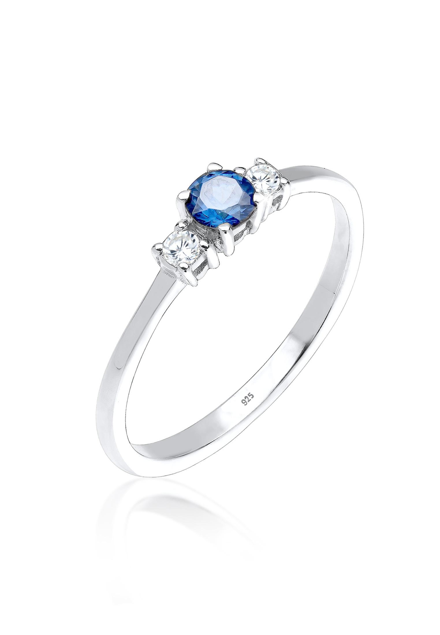 Ring | Saphir ( Blau ) | 925er Sterling Silber