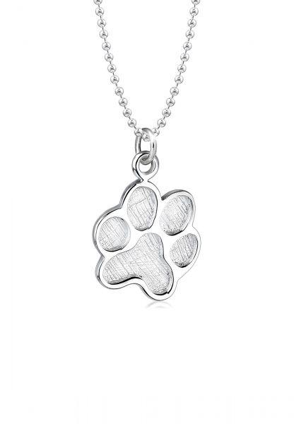 Elli Halskette Pfote Hund Abruck 925 Sterling Silber