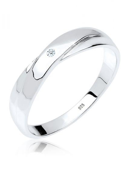 DIAMORE Ring Geschenkidee Diamant 0.015 ct. 925 Silber