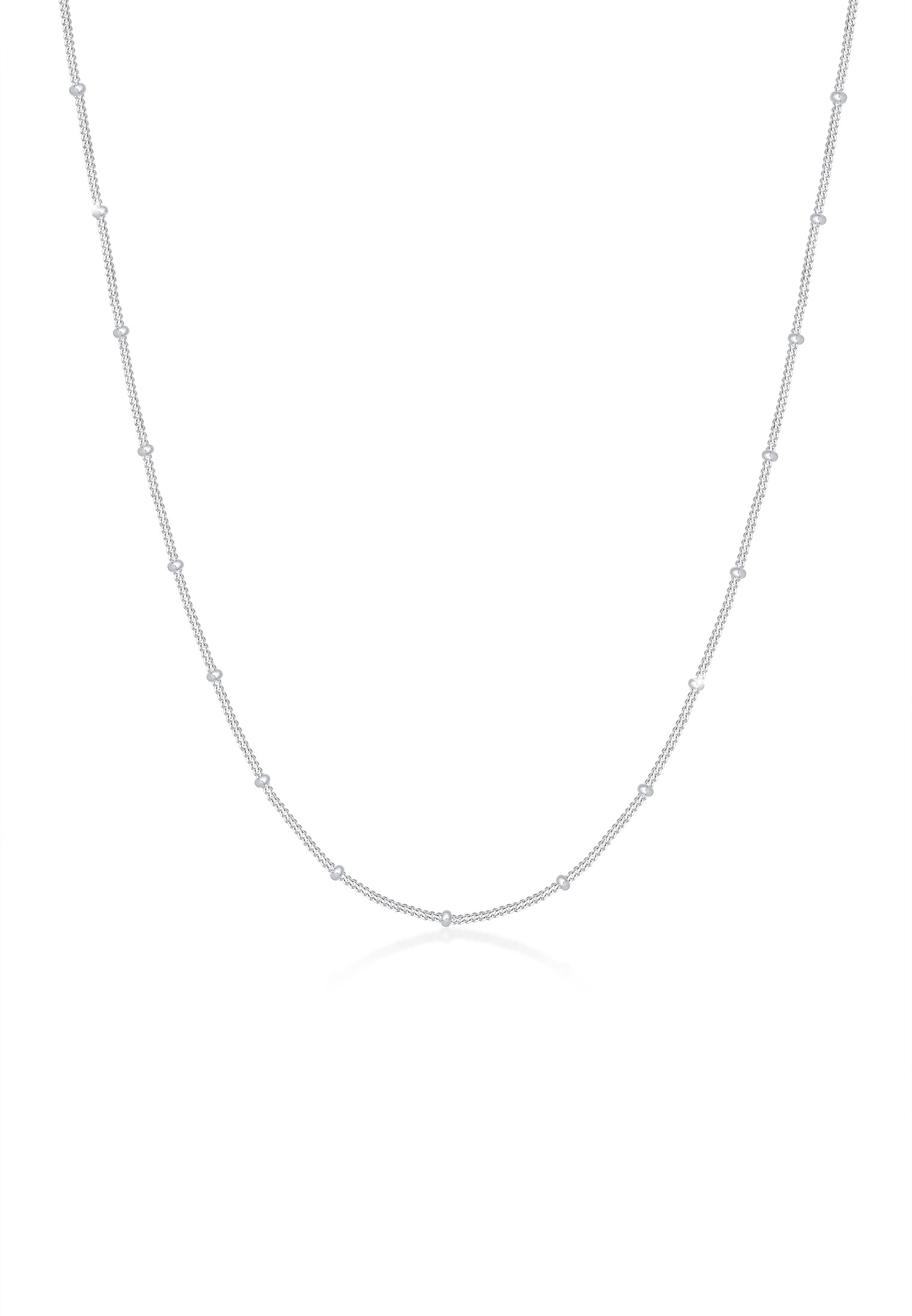 Kugel-Halskette Basic   925er Sterling Silber