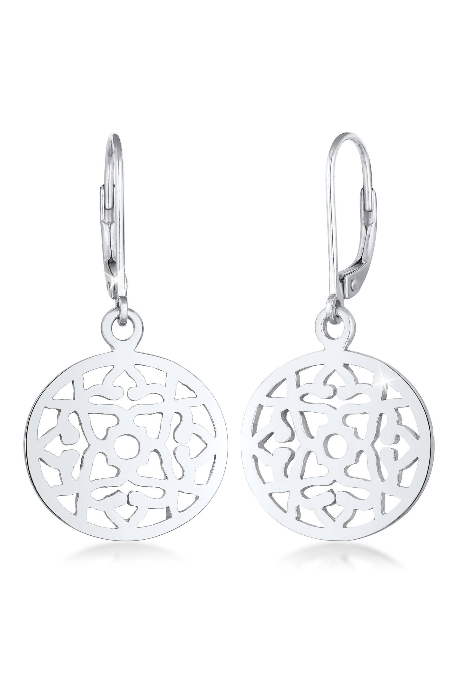 Ohrringe Ornament Orientalisch | 925er Sterling Silber