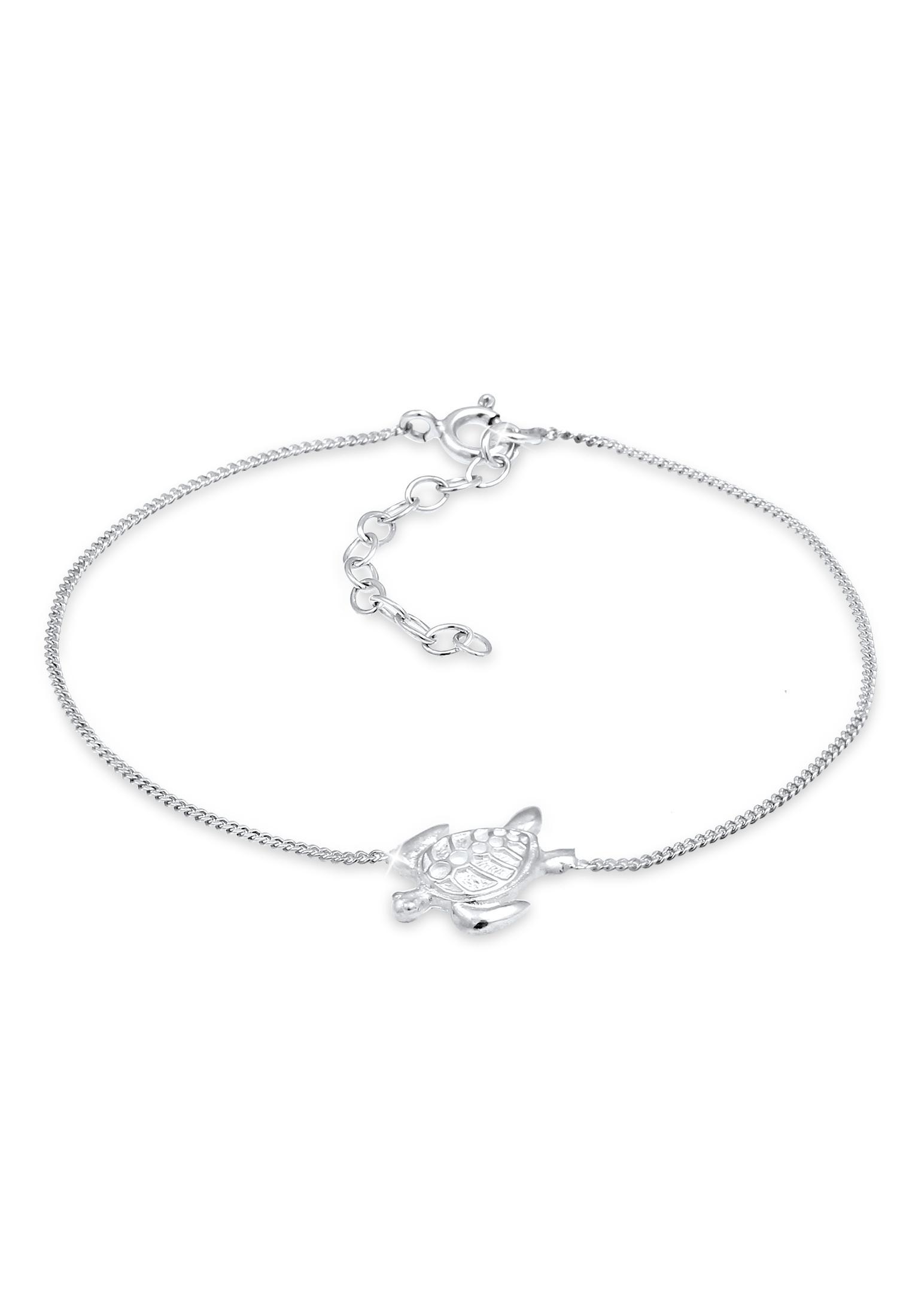 Armband Schildkröte   925er Sterling Silber