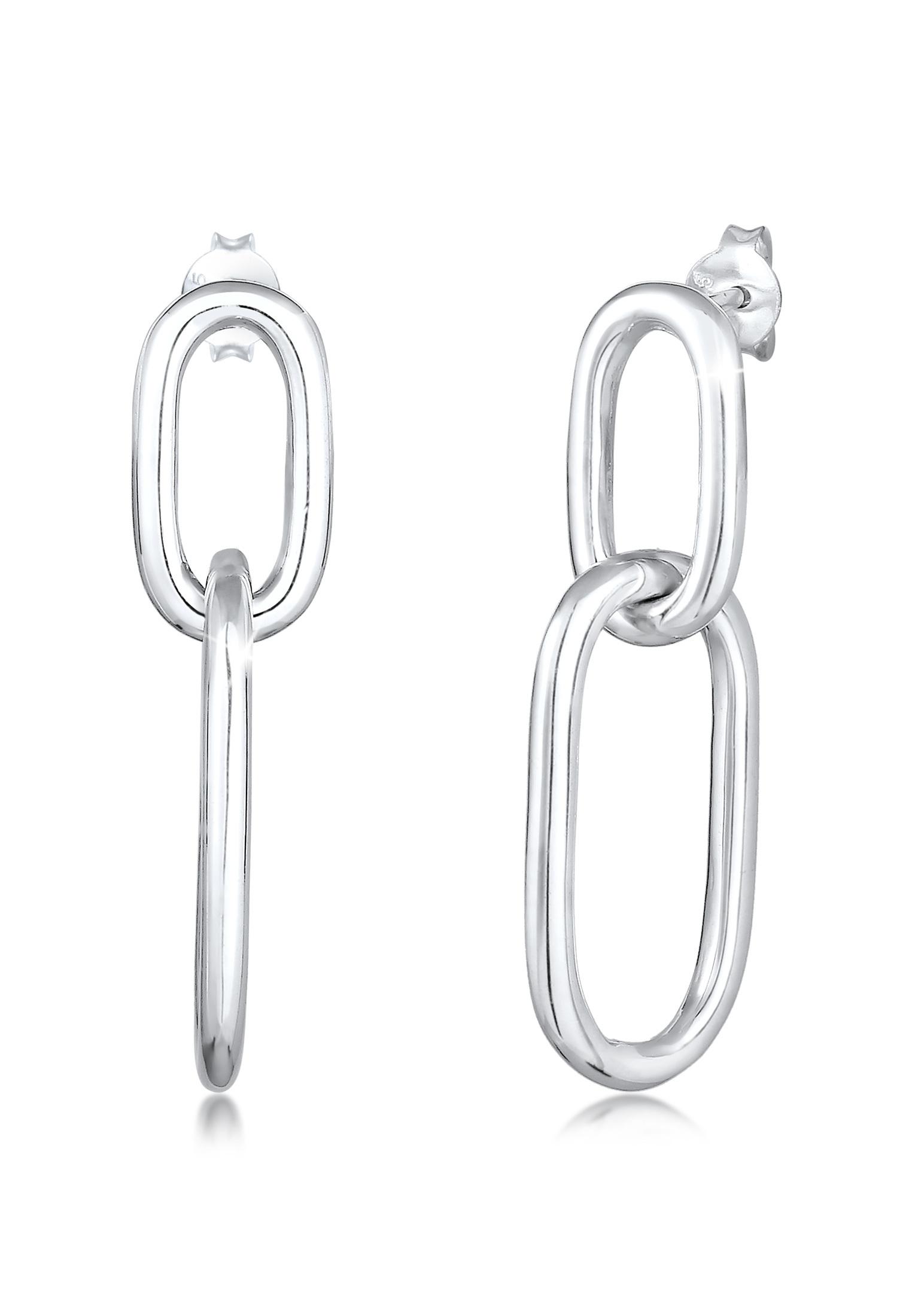 Ohrhänger Geo   925er Sterling Silber