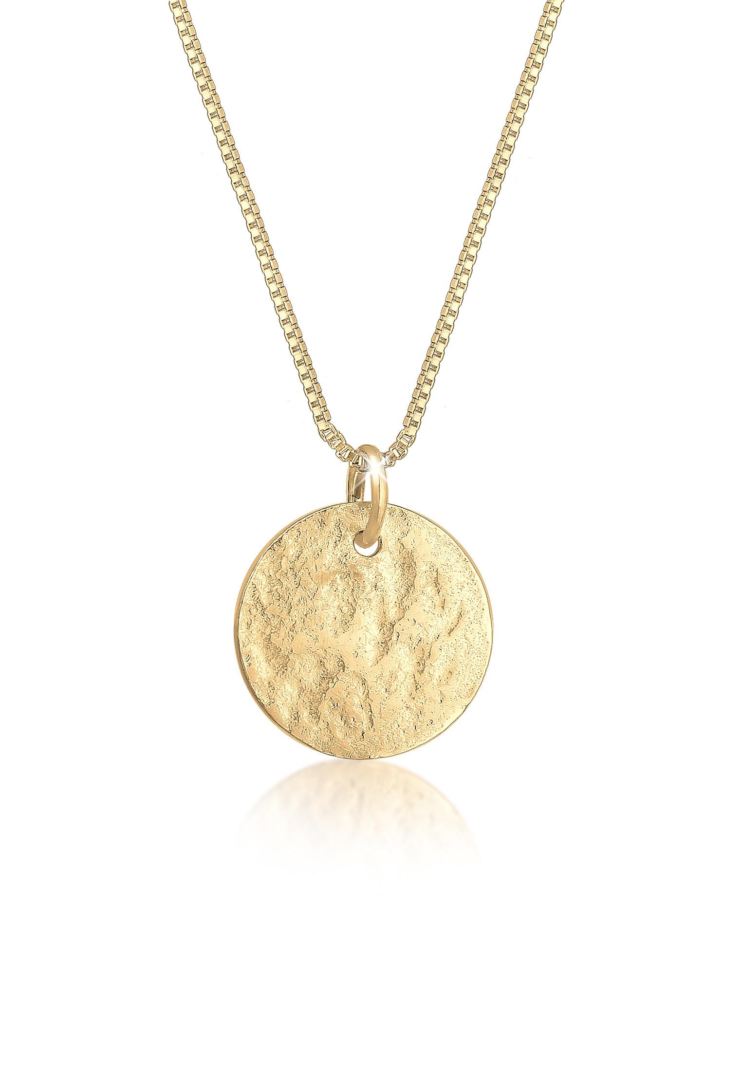 Venezianer-Halskette Geo | 925er Sterling Silber