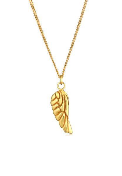 Halskette Flügel   375er Gelbgold
