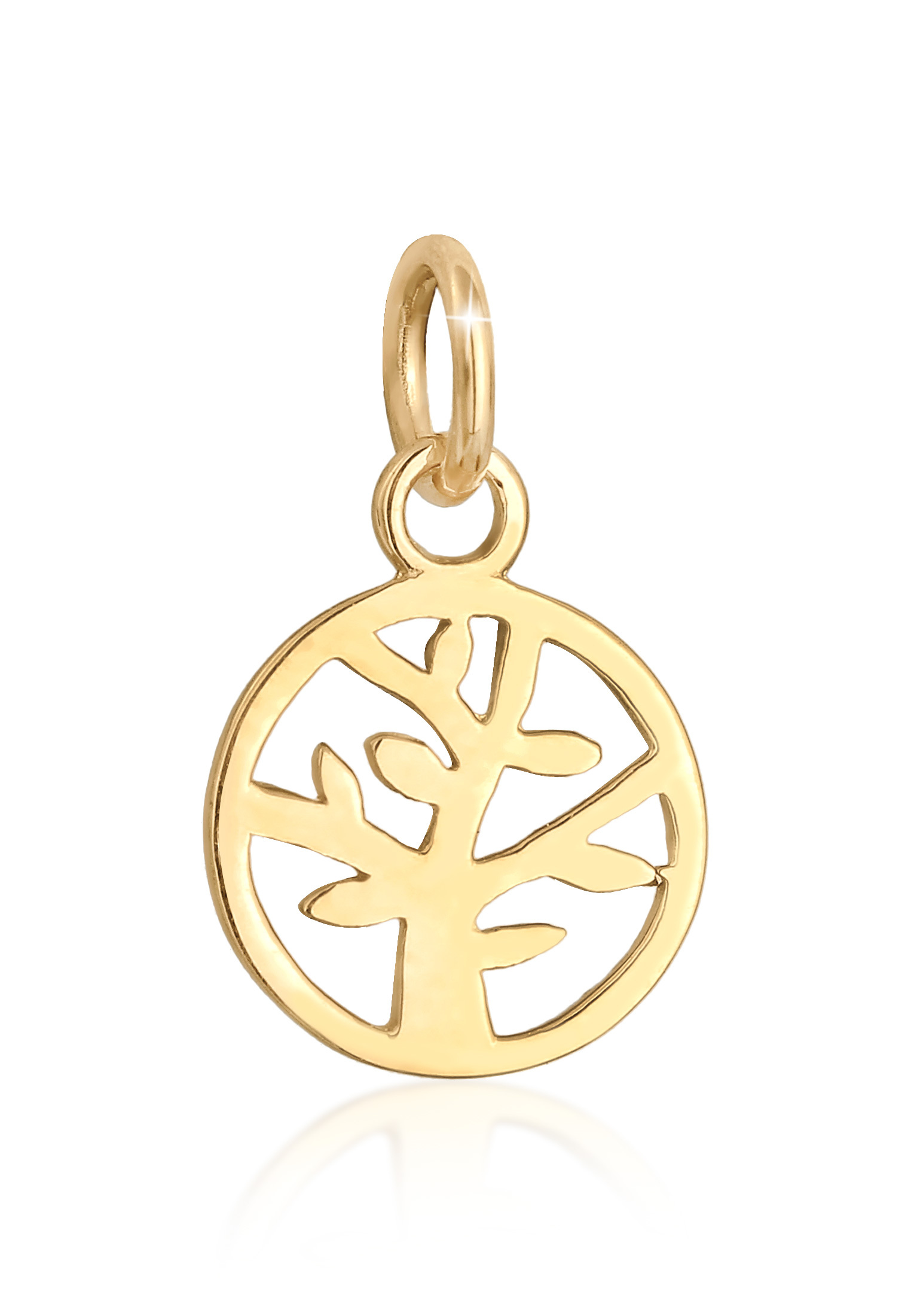 Anhänger Lebensbaum | 585er Gelbgold