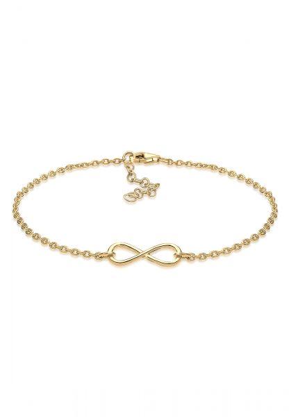 Elli Armband Infinity Unendlichkeit 925 Sterling Silber