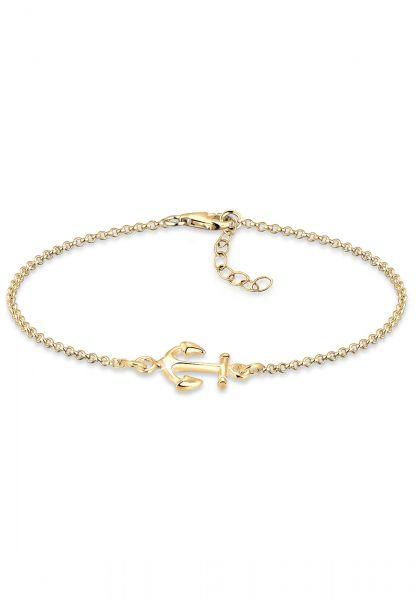Elli Armband Anker Maritim Segler Trend Symbol 925 Silber