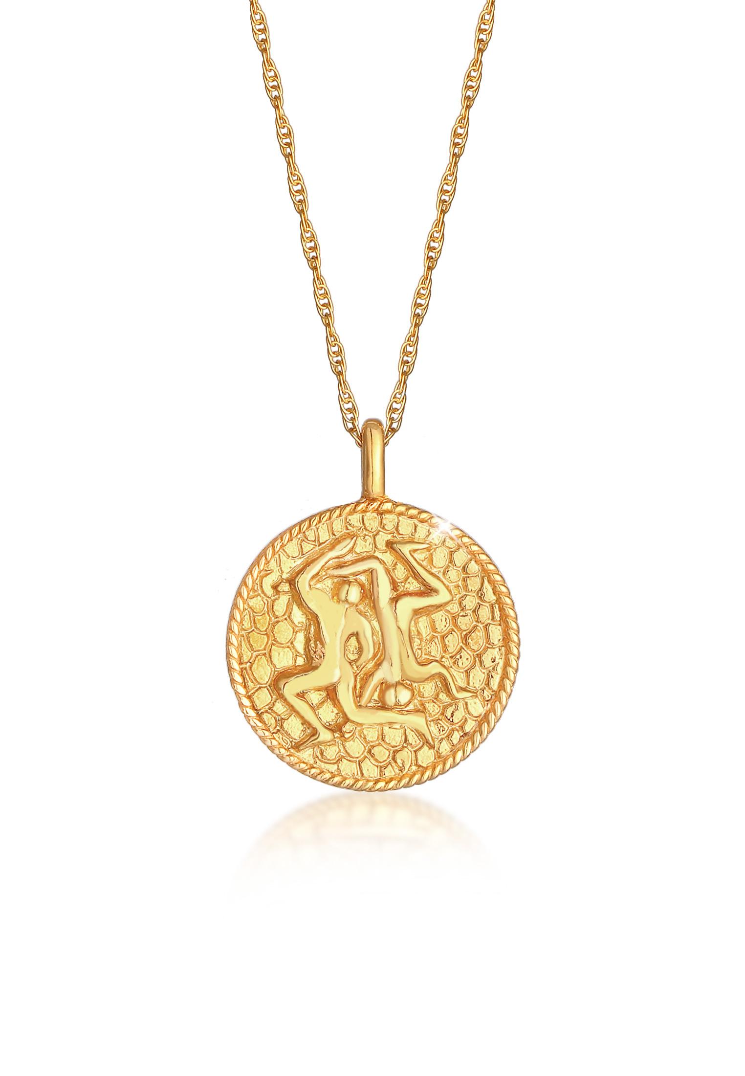 Halskette Sternzeichen | 925 Sterling Silber vergoldet