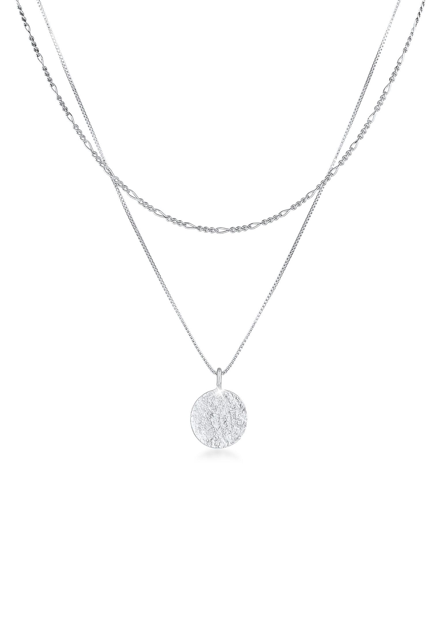 Venezianer-Halskette Geo   925er Sterling Silber