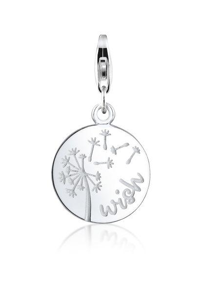 Nenalina Charm Anhänger Wish Pusteblume Kombinierbar 925 Silber