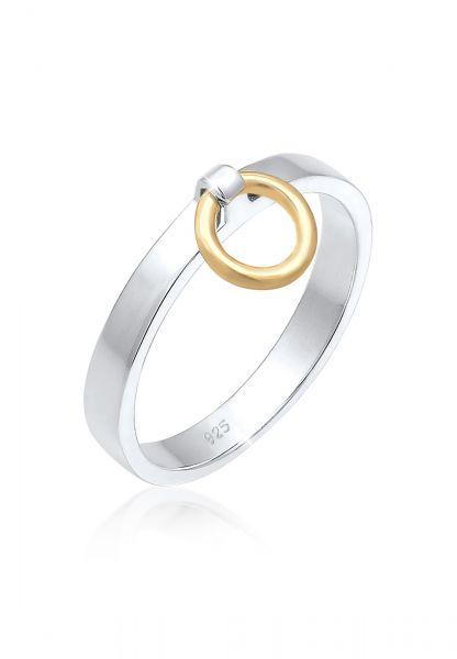 Ring Geo | 925 Sterling Silber vergoldet