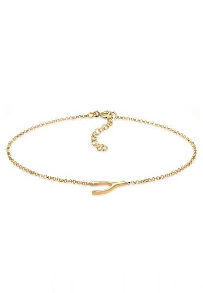 Elli Armband Erbskette Wünschelrute Basic Trend 925er Silber