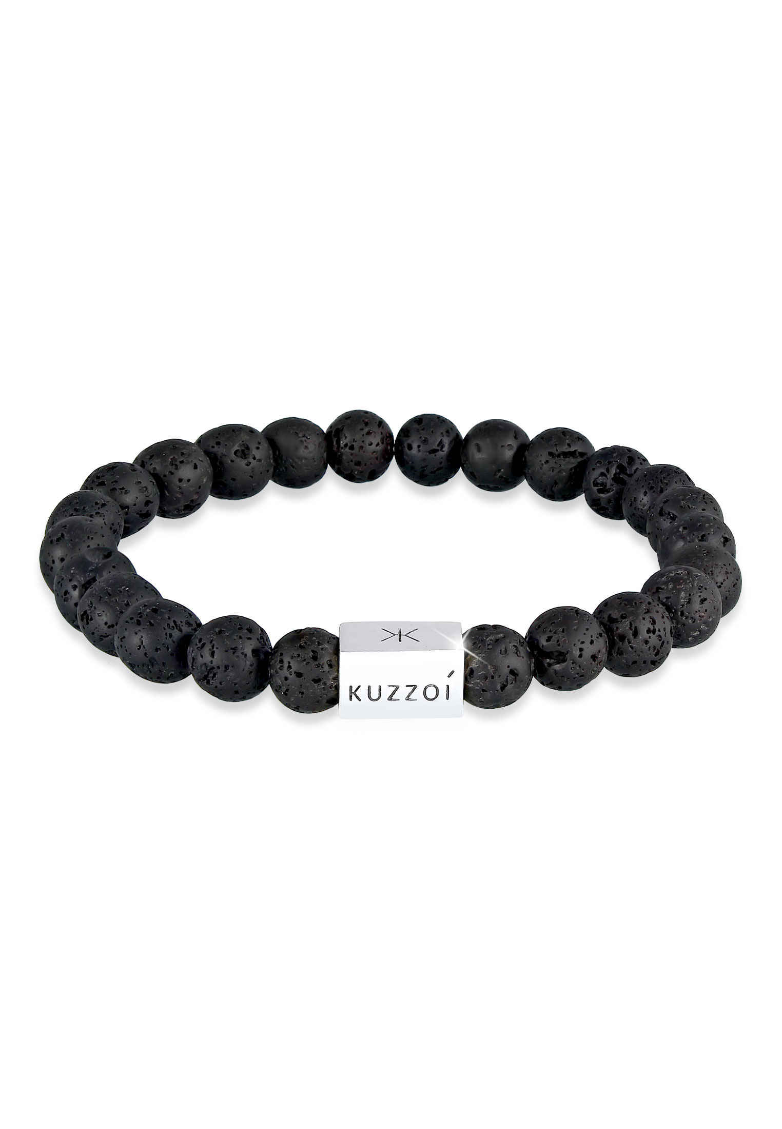 Armband Geo | Lava ( Schwarz ) | 925er Sterling Silber