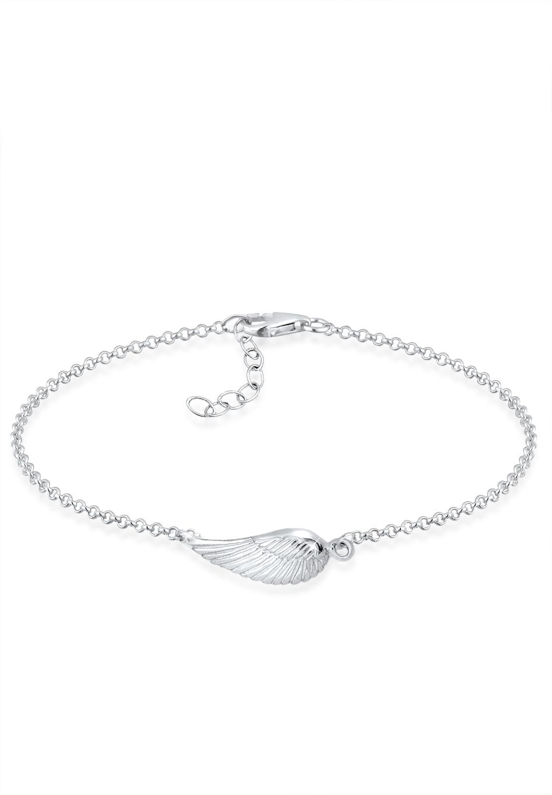 Armband Flügel   925er Sterling Silber