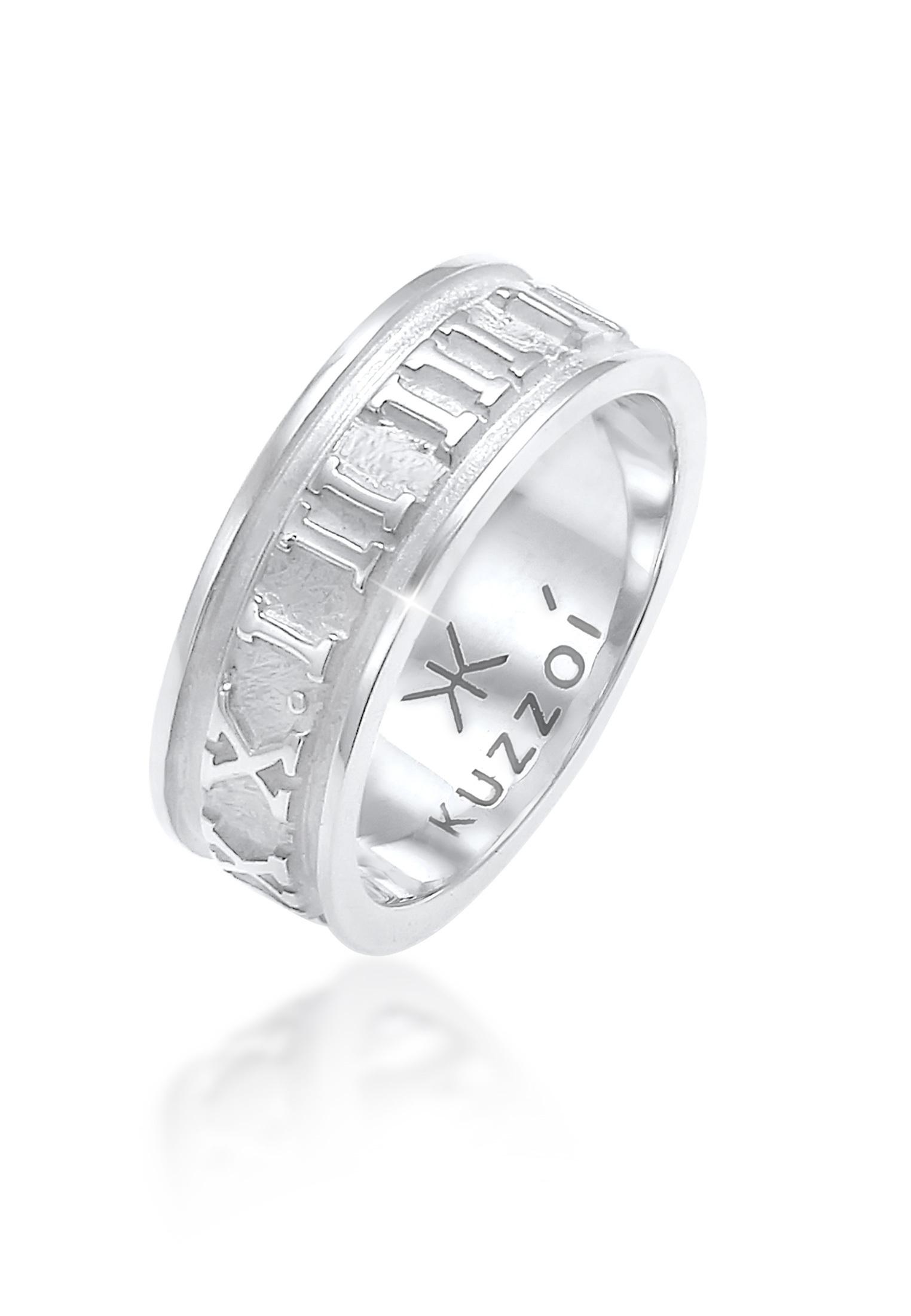 Ring Zahlen   925er Sterling Silber