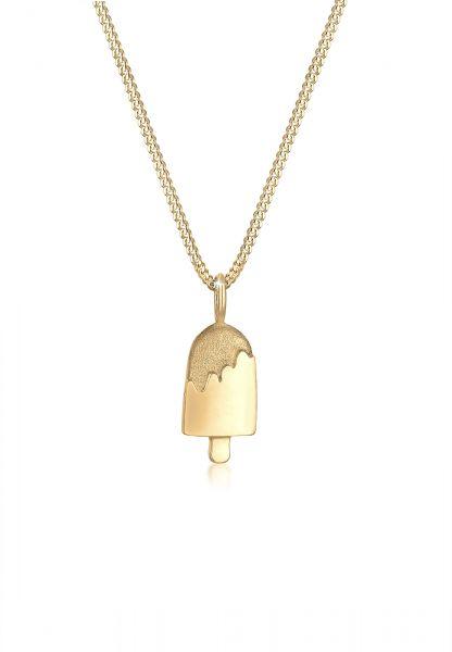 Halskette Süßigkeiten | 925 Sterling Silber vergoldet
