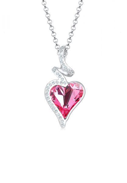 Herz Liebe Kristalle 925 Silber Cara
