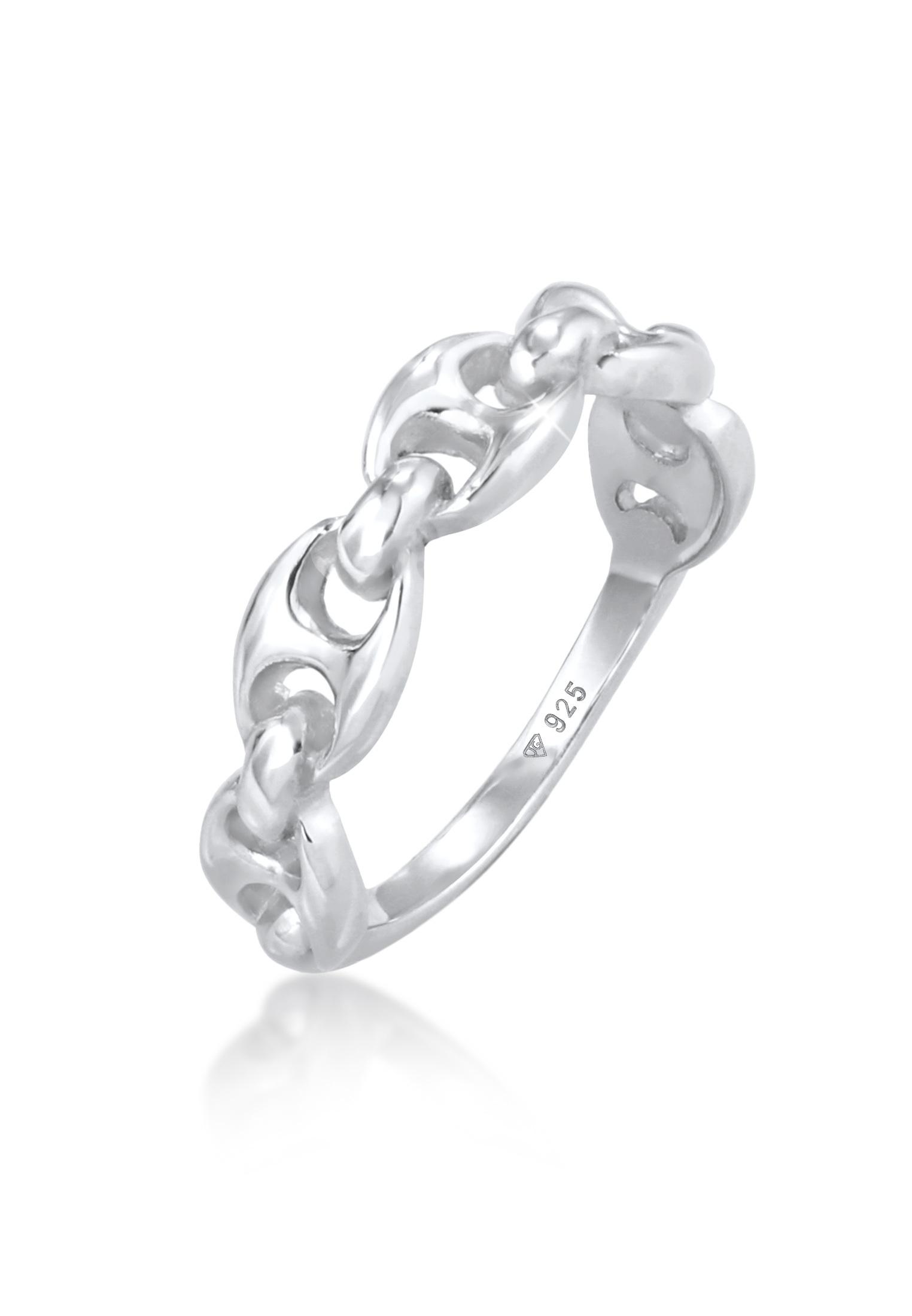Ring Schiffsankerglieder   925er Sterling Silber