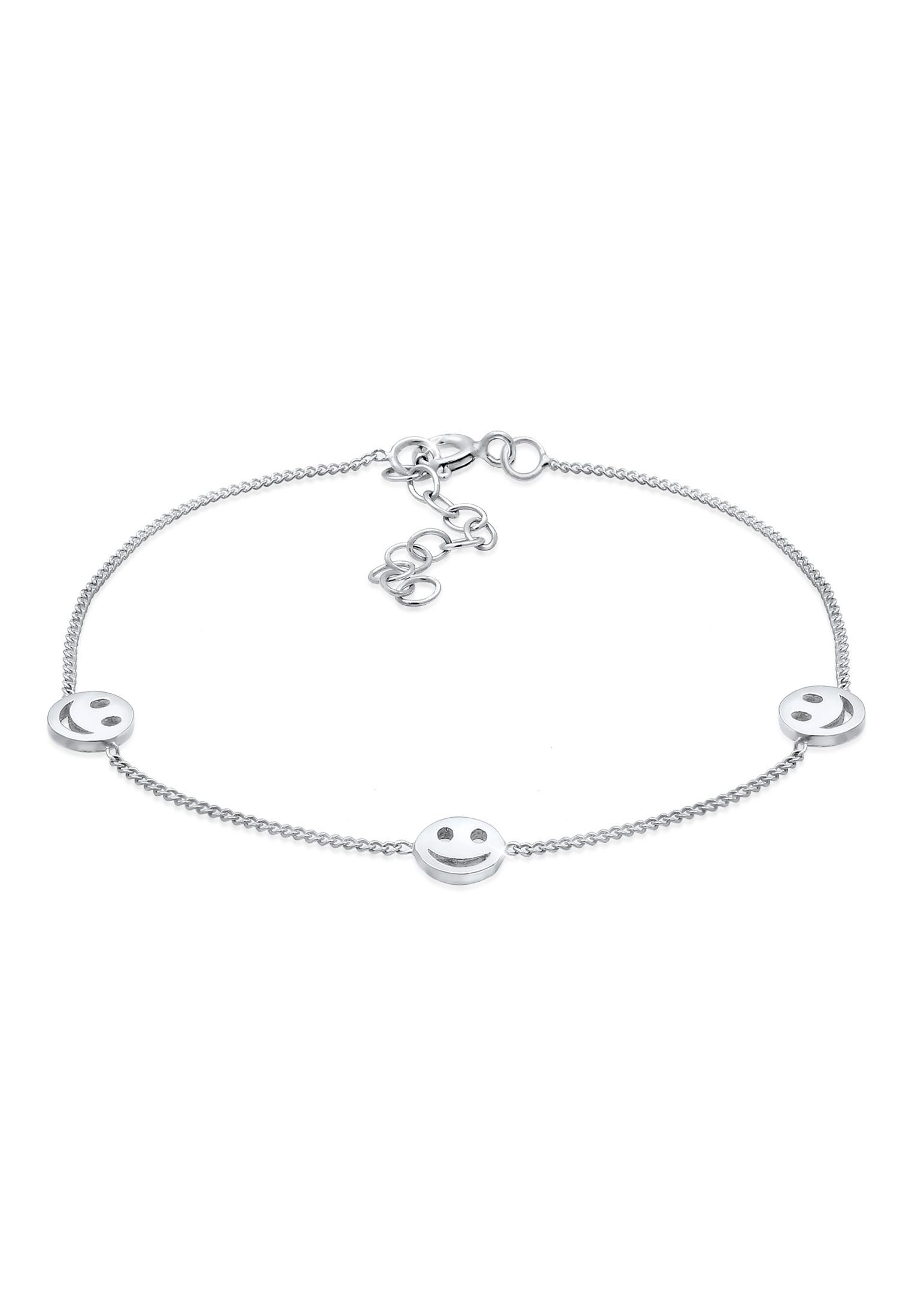 Armband Smiley | 925er Sterling Silber