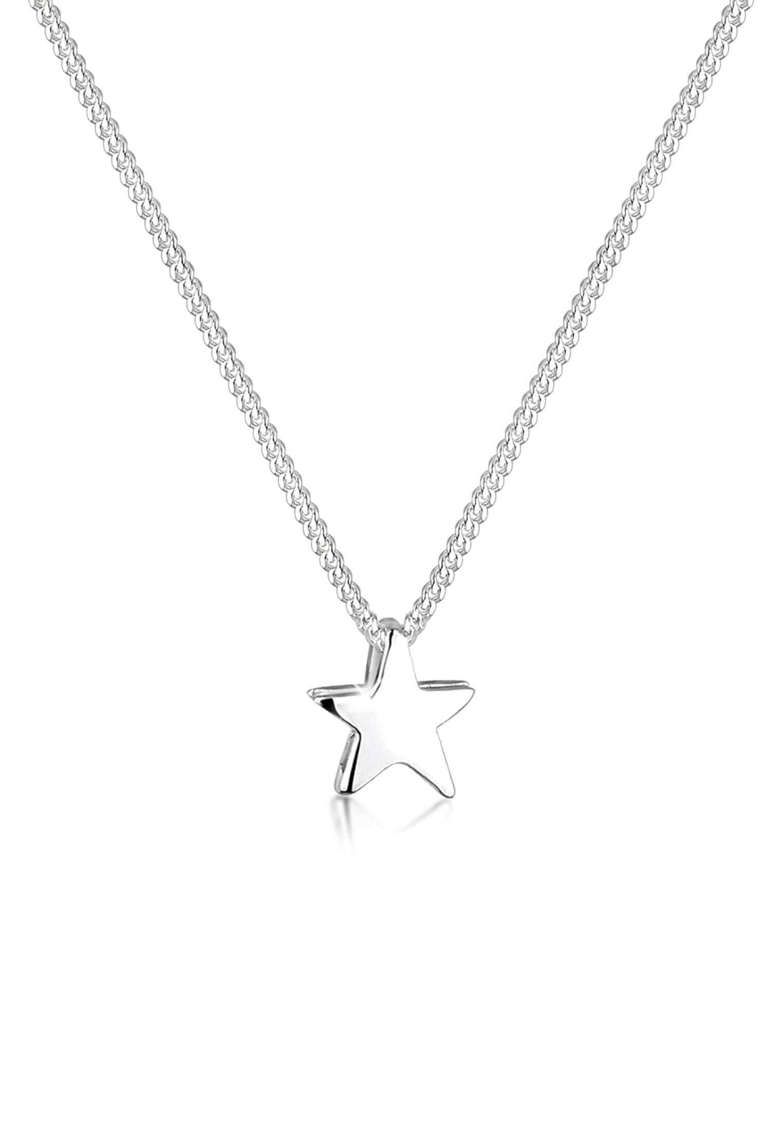Halskette Stern | 925er Sterling Silber