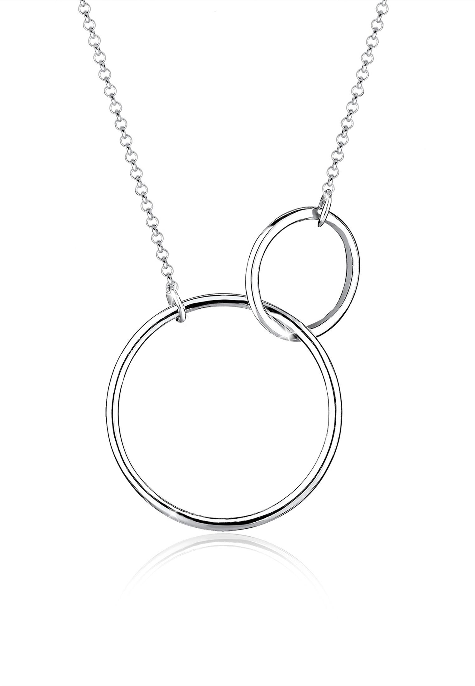 Halskette Kreise | 925er Sterling Silber