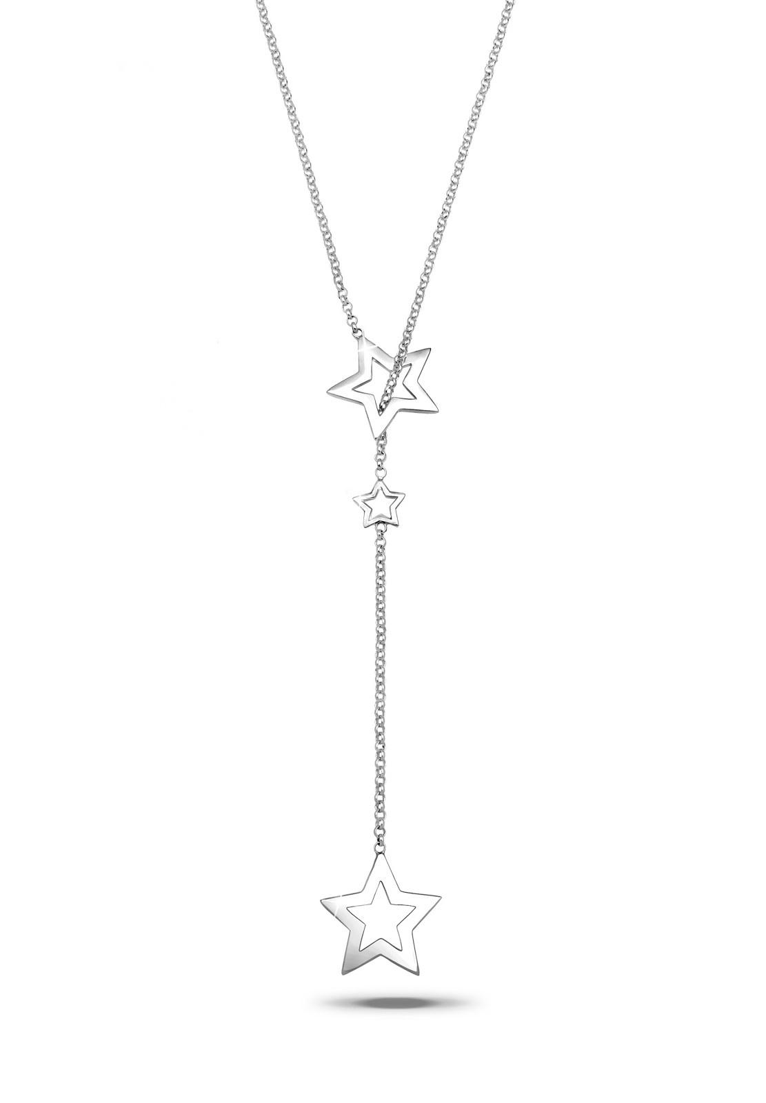Y-Halskette Stern | 925er Sterling Silber
