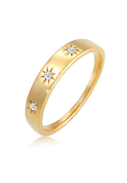 Verlobungsring | Diamant ( Weiß, 0,045 ct ) | 585 Gelbgold