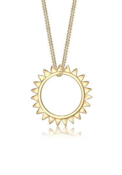 Halskette Astro   925 Sterling Silber vergoldet