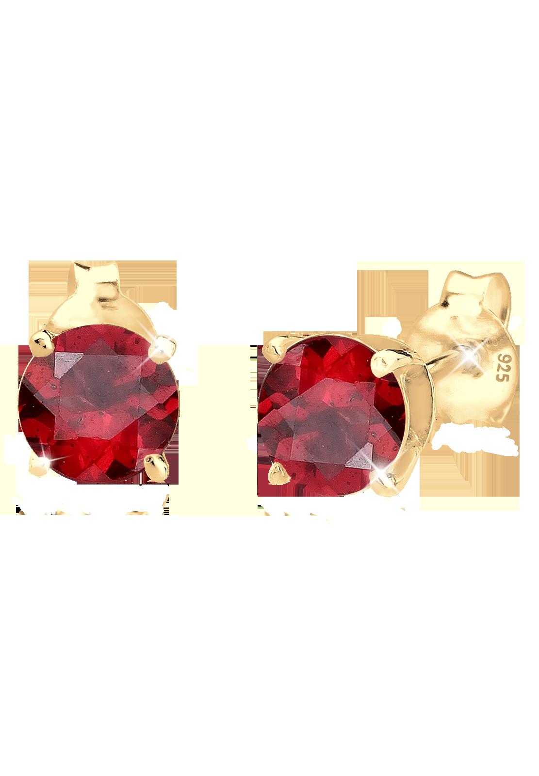 Der Granat ist ein intensiv rot strahlender Granat Stein