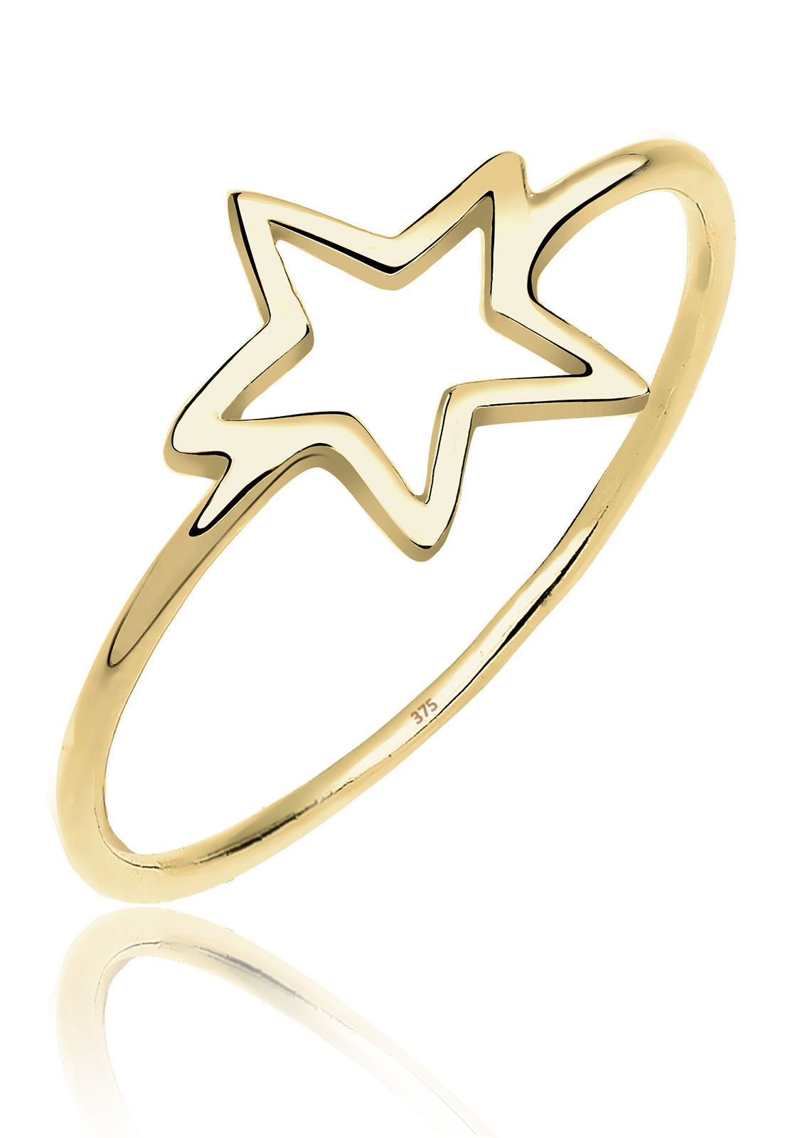 Ring Stern | 375 Gelbgold