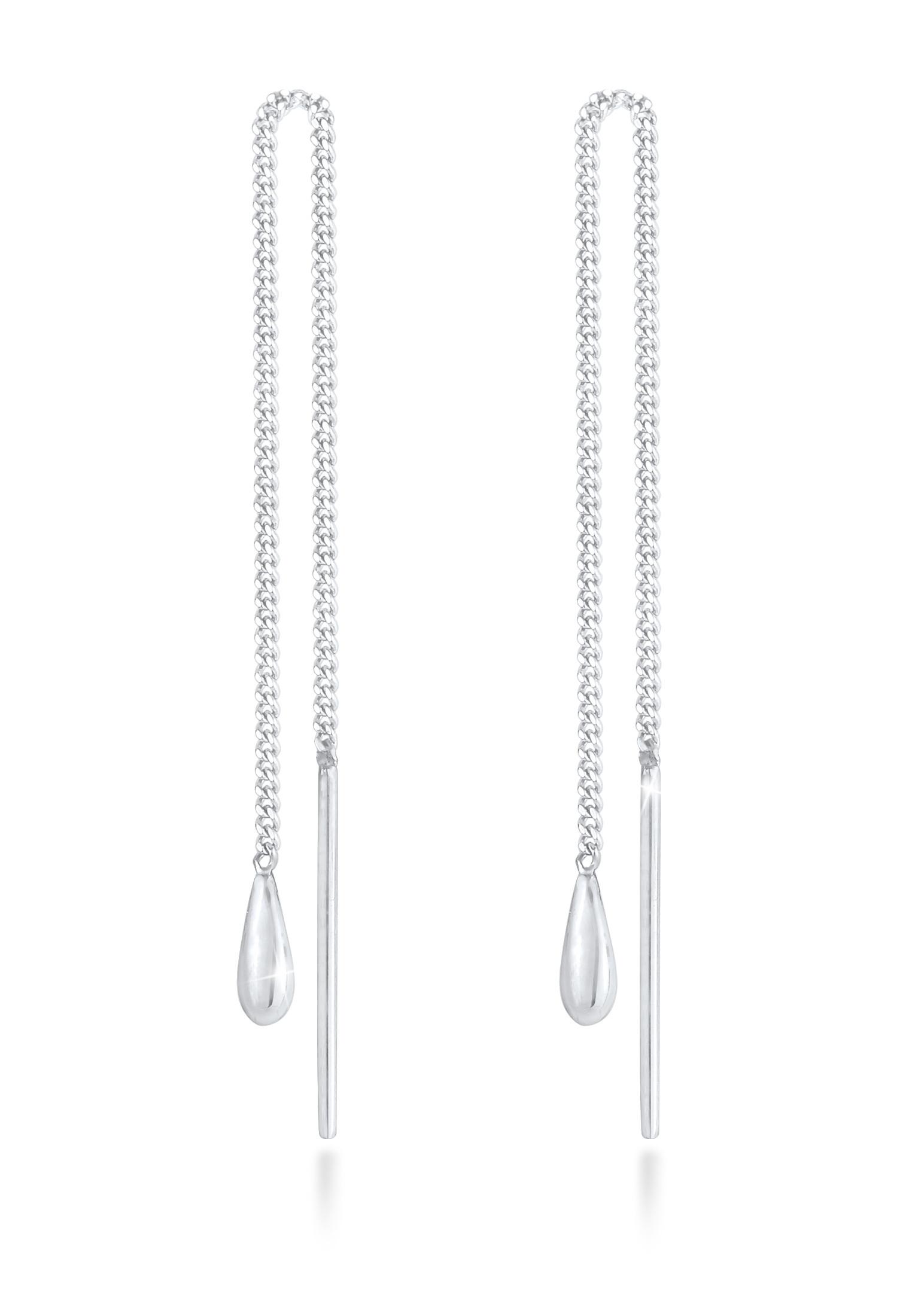 Ohrhänger Ear Chain   925er Sterling Silber