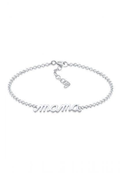 Elli Armband Mama Schriftzug Wording Muttertag Liebe 925 Silber