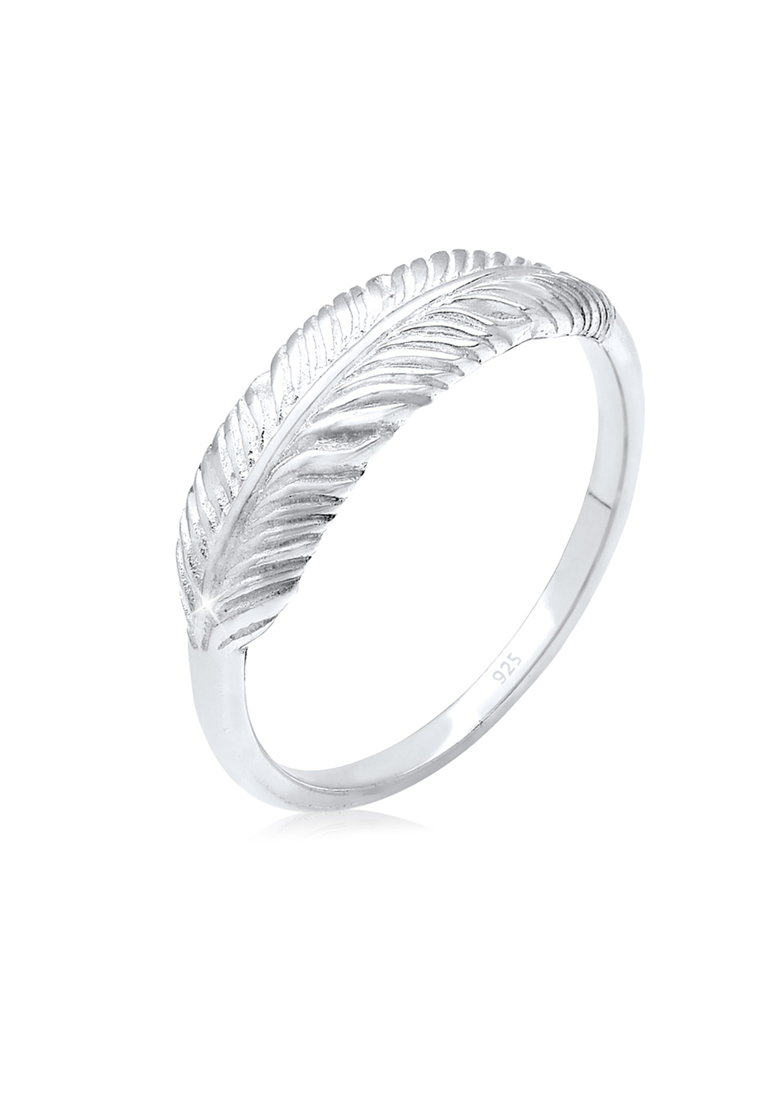 Ring Feder   925er Sterling Silber
