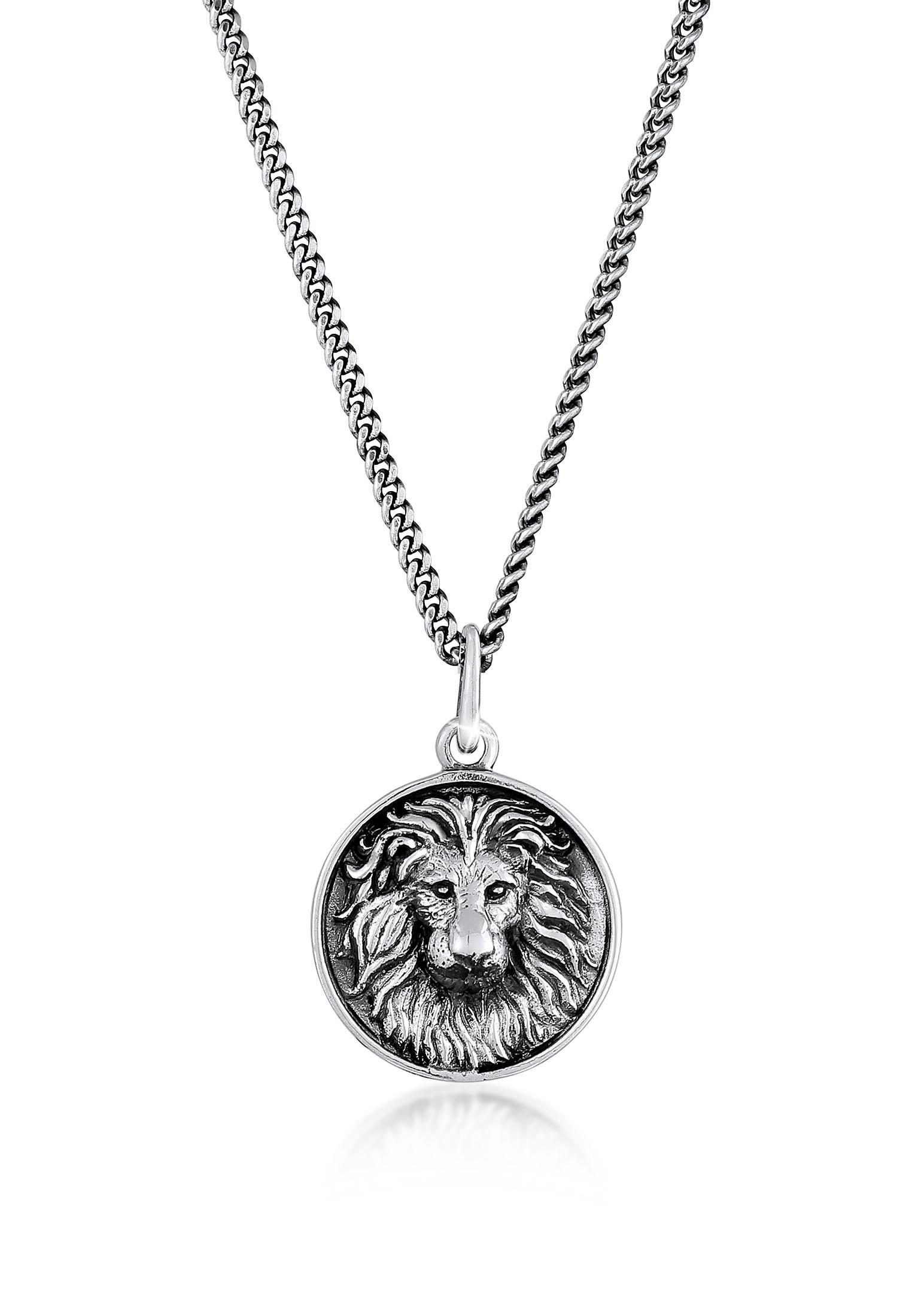 Halskette Löwe | 925er Sterling Silber