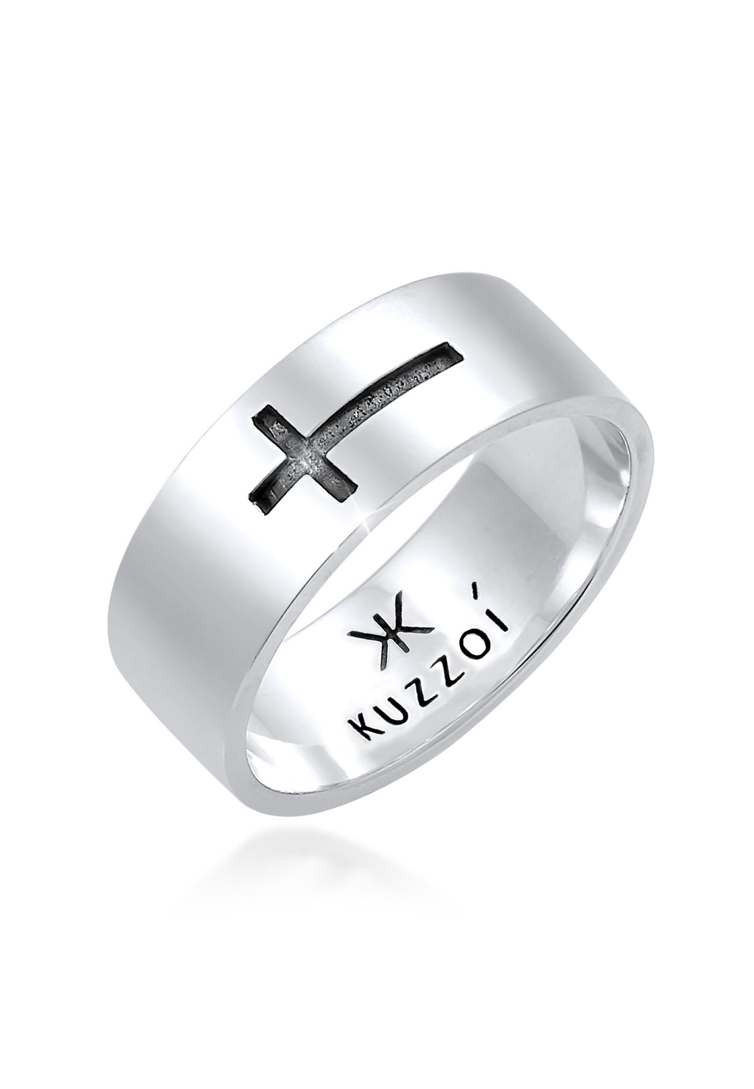 Ring Kreuz   925er Sterling Silber