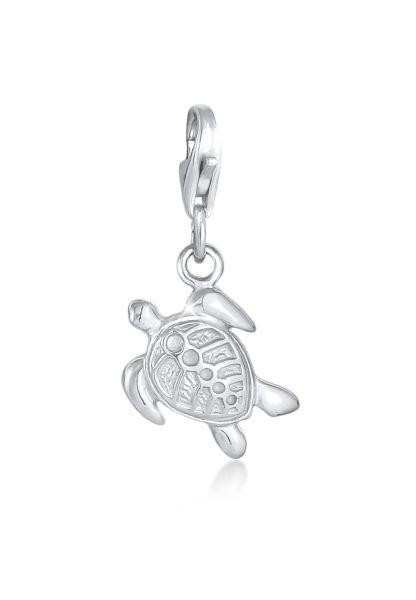 Nenalina Charm Anhänger Schildkröte Tier 925 Silber