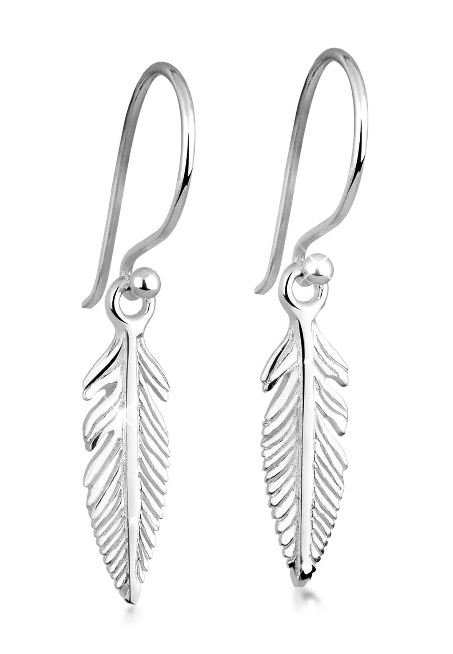 Ohrhänger Feder | 925er Sterling Silber