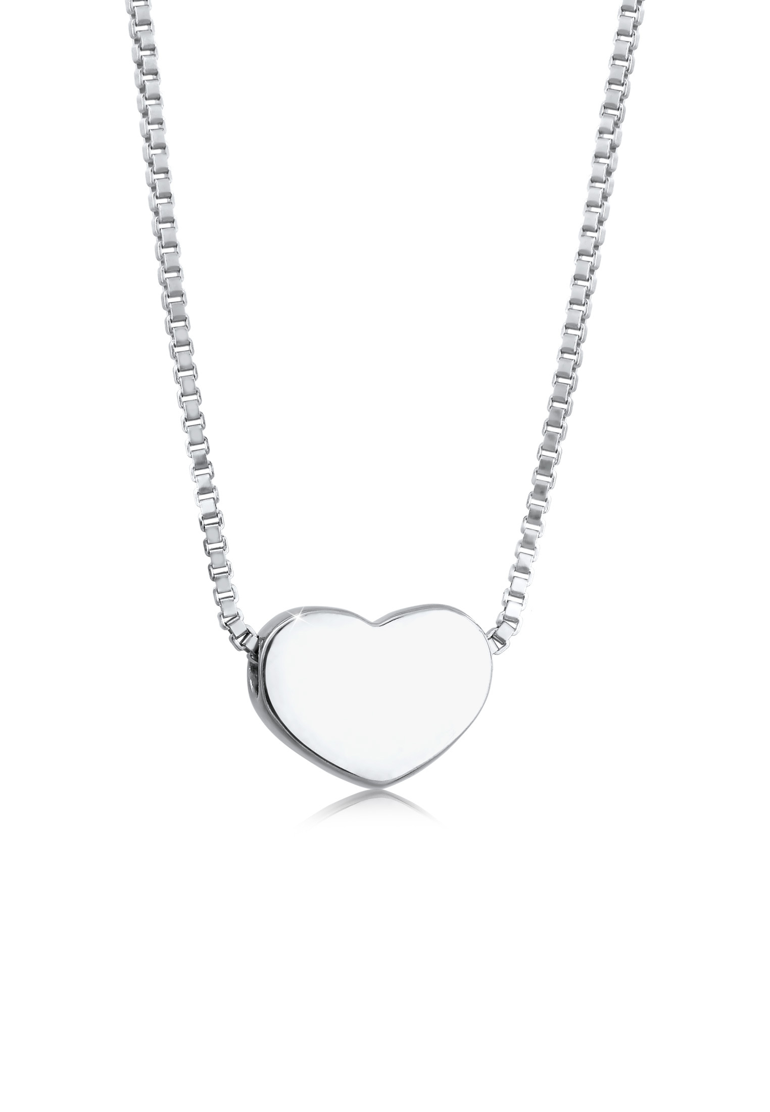 Venezianer-Halskette Herz | 925er Sterling Silber