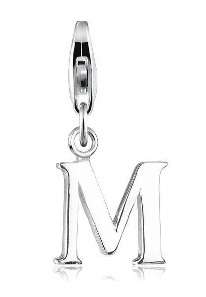 Charm Buchstabe | 925er Sterling Silber