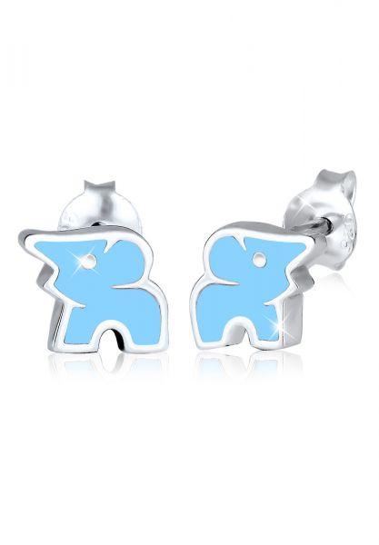 Elli Ohrringe Kinderschmuck Elefant Tier Zoo 925 Sterling Silber