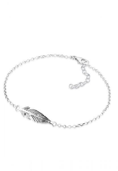 Elli Armband Feder 925 Sterling Silber