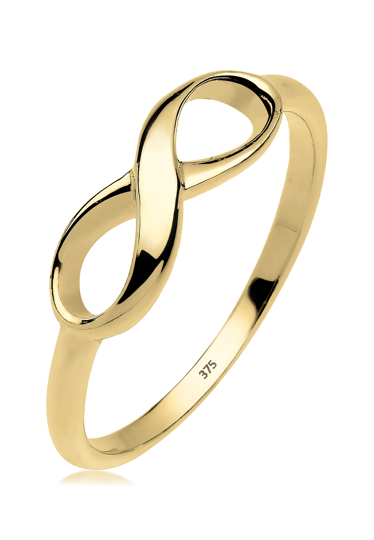 Ring Infinity | 375 Gelbgold